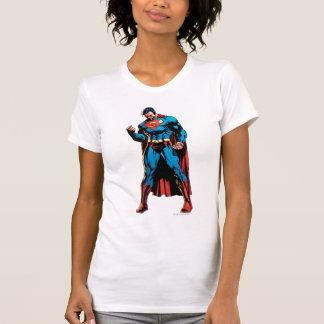 Camiseta Superhombre - mano en el puño