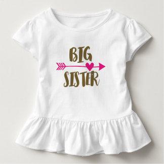 Camiseta superior de la hermana grande