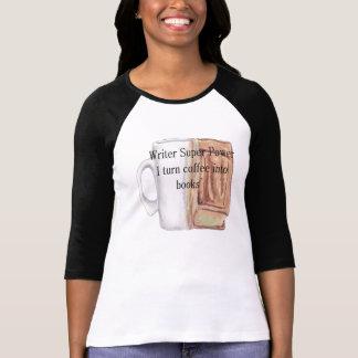 Camiseta Superpoder del escritor