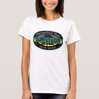 Camiseta Superviviente de la mamá de Homeschool