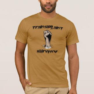 Camiseta Superviviente del trasplante - estilo del Grunge