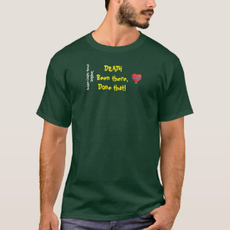 Camiseta Superviviente súbito del fallo cardiaco