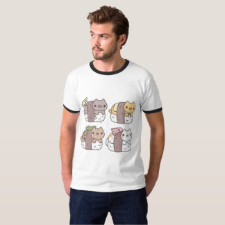 Camiseta Sushi Cats