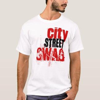 Camiseta swag de la calle de la ciudad