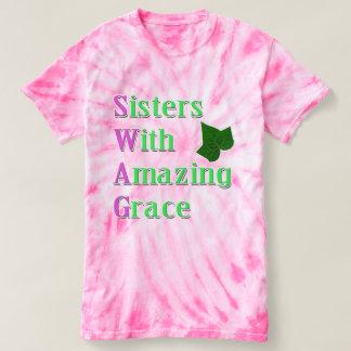 Camiseta SWAG - hermanas con tolerancia asombrosa