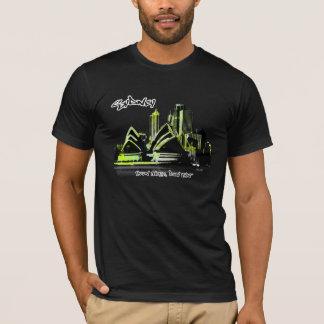 Camiseta Sydney urbana