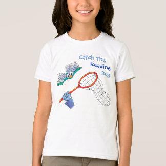 Camiseta T-Camisa-Captura el insecto de la lectura