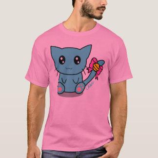 Camiseta t-camisa-diseño-gatito