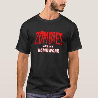 Camiseta T divertido de Apocolypse del zombi