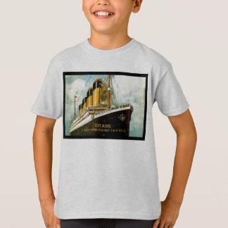 Camiseta T el 100o del niño titánico del aniversario del