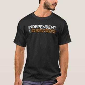 """Camiseta T negro """"independiente"""""""