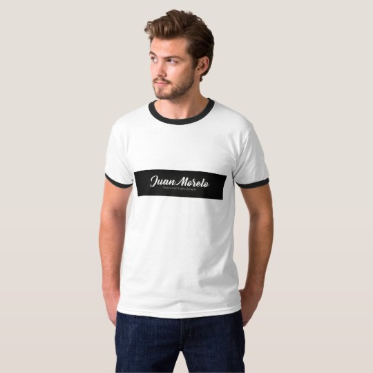 Camiseta T-shirt 2 Black and White with stripe