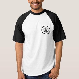 Camiseta T-shirt americano negro
