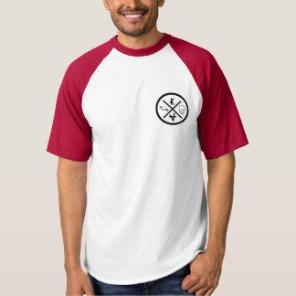 Camiseta T-shirt americano rojo