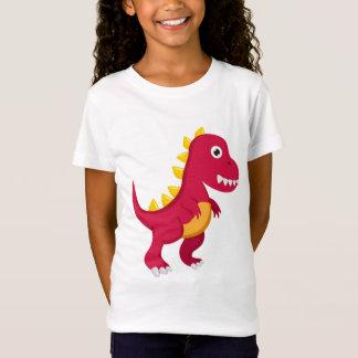 Camiseta T - shirt BASIC Muchacha Dinosaurio
