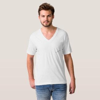 """Camiseta T-shirt cuello V para hombres """"la Bonita Flor """""""
