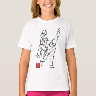 Camiseta T-shirt DESEQUILIBRA Deporte-Teca muchacha