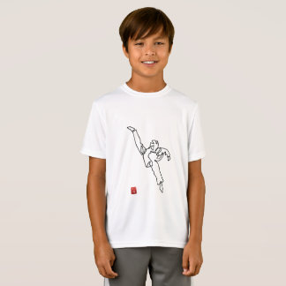 Camiseta T-shirt DWICHAGI back kick Sport-Teca garçon