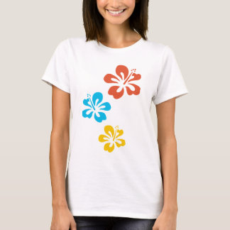Camiseta t-shirt hibiscus