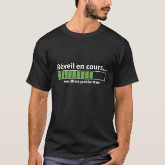 Camiseta T - shirt humor geek despertador en curso