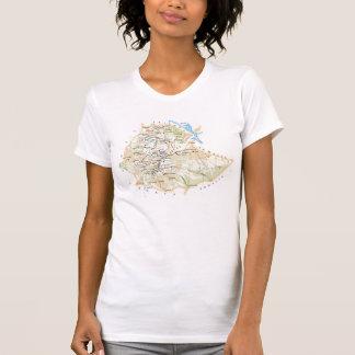 "Camiseta T-shirt ""Mapa de Etiopía """