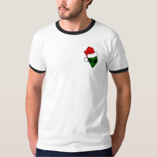 Camiseta T-shirt Noël con borde negro