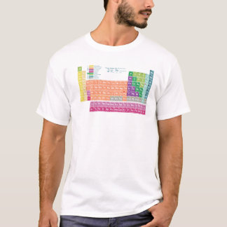 Camiseta T-Shirt periodic table of elements