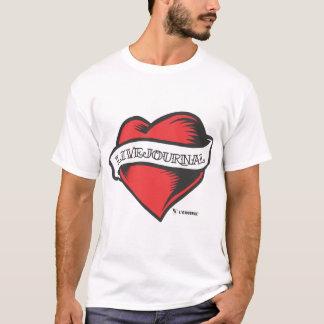 Camiseta t Ultra-suaves de la moda (tatuaje de LiveJournal)