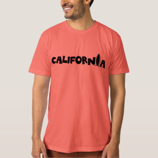 Camiseta Tabla hawaiana de California