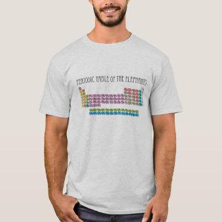Camiseta Tabla periódica de elefantes