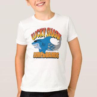 Camiseta Tablas hawaianas afortunadas del tiburón