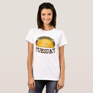 Camiseta Tacos Foodie de la comida de Tex Mex del mexicano