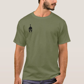 Camiseta táctica del casco espartano
