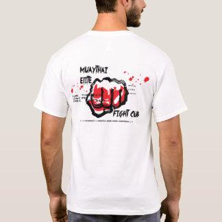 Camiseta tailandesa del club de la lucha de Muay