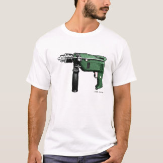 Camiseta taladradora serial