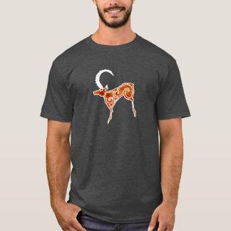 Camiseta Tallas de la roca de los animales siberianos