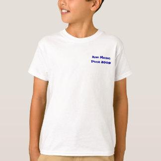 Camiseta Tamaños de los niños del pato 2009