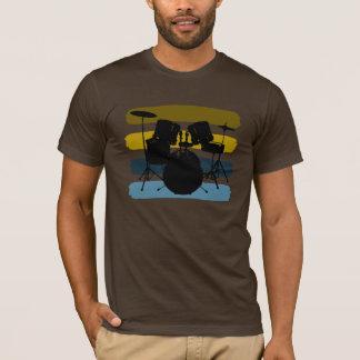 Camiseta Tambores y rayas