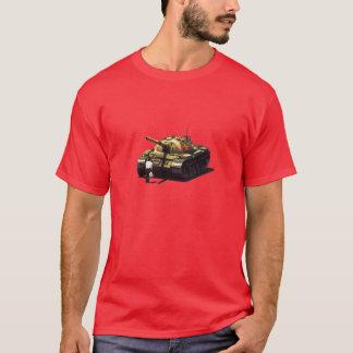Camiseta tankman de la Plaza de Tiananmen - rojo
