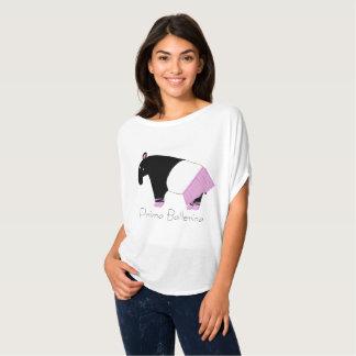 Camiseta Tapir de la bailarina de Prima