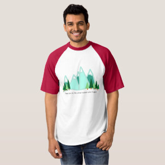 Camiseta Tarde el tiempo para hacer qué le hace feliz