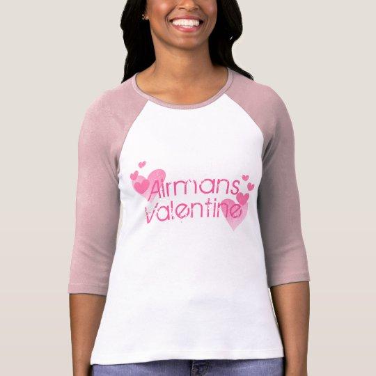 Camiseta Tarjeta del día de San Valentín de Airmans