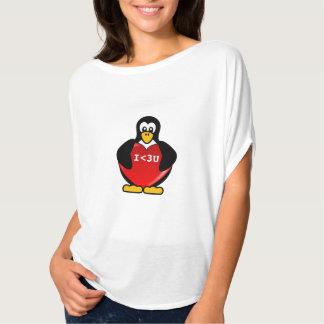 Camiseta Tarjeta del día de San Valentín de la tecnología