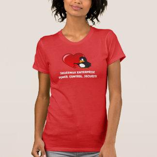 Camiseta Tarjeta del día de San Valentín del friki de la