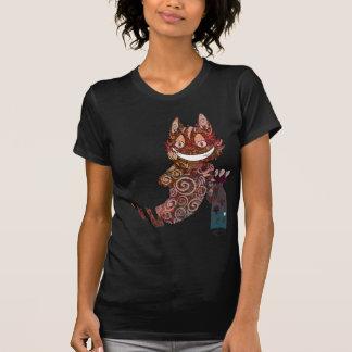 Camiseta Tarro de la seta del gato de Cheshire