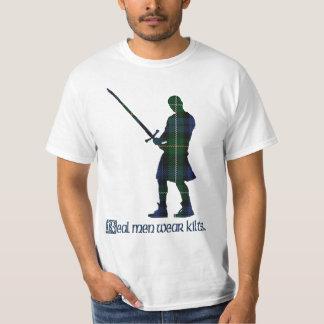 Camiseta Tartán real del escocés de Campbell de las faldas