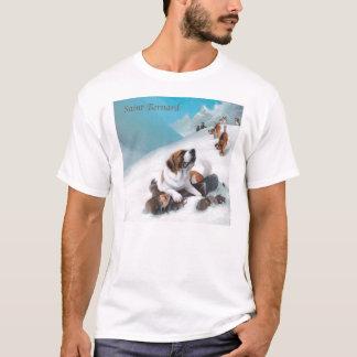 Camiseta Taza de St Bernard