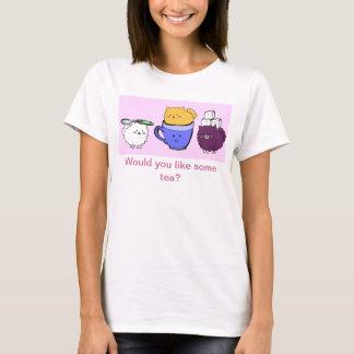 Camiseta Taza de té Poms