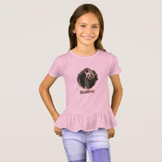 Camiseta Te del volante de la panda de los chicas