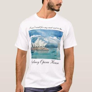 Camiseta Teatro de la ópera de Sydney